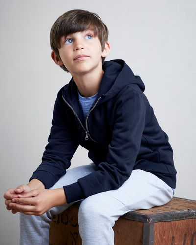 Boys Zip Through Hoodie (3-14 years) thumbnail