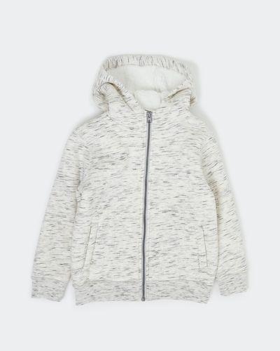 Boys Faux Fur Zip Through Hoodie (2-14 years)