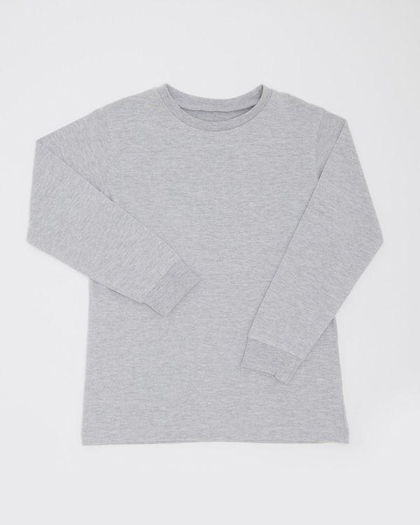 Boys Plain Long-Sleeved Top (3-14 years)