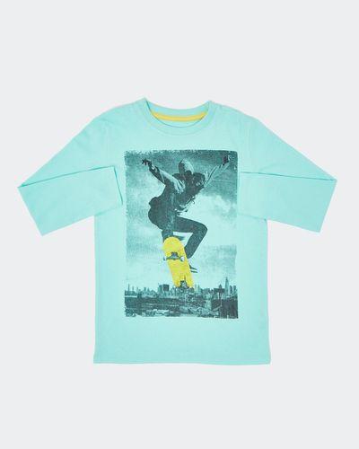 Boys Printed Long-Sleeved Top (2-14 Years) thumbnail