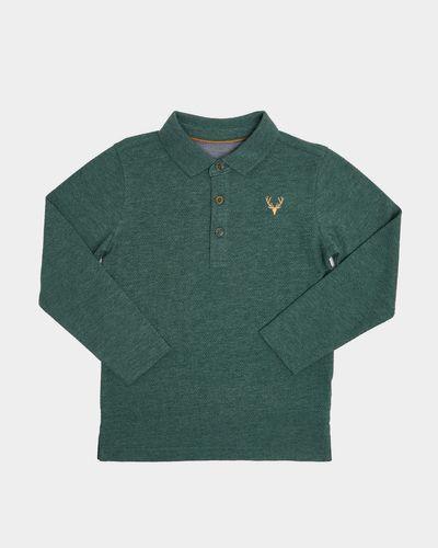 Long-Sleeved Polo (4-14 years)