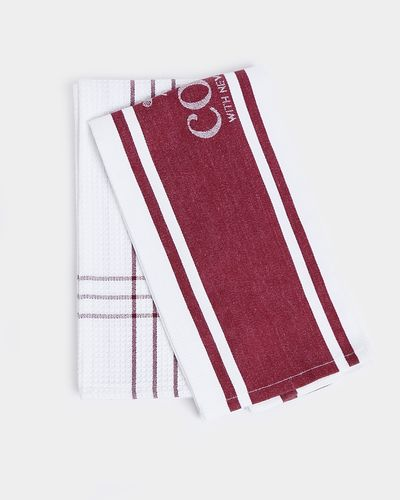 Neven Maguire Tea Towels - Pack Of 2 thumbnail