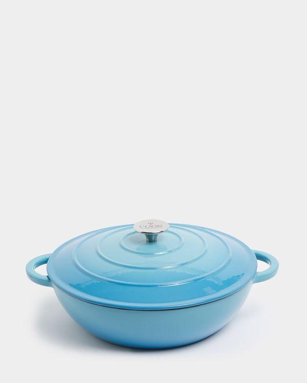 Neven Maguire Shallow Cast Iron Pot