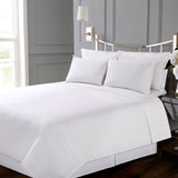 white Francis Brennan the Collection White Sheet Set