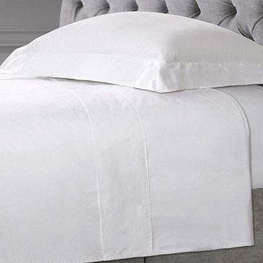 Francis Brennan the Collection White Flat Sheet