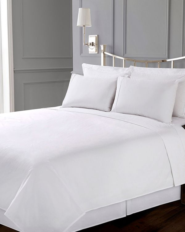 Francis Brennan the Collection White Bed Sheet Set
