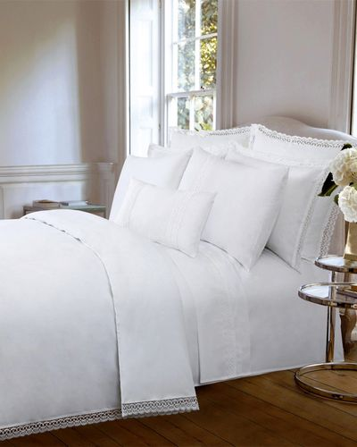 Francis Brennan the Collection Lace Border Duvet Cover