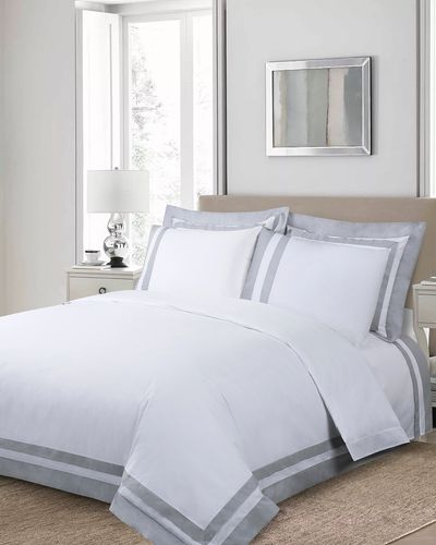 Francis Brennan the Collection Contrast Panel Duvet Cover