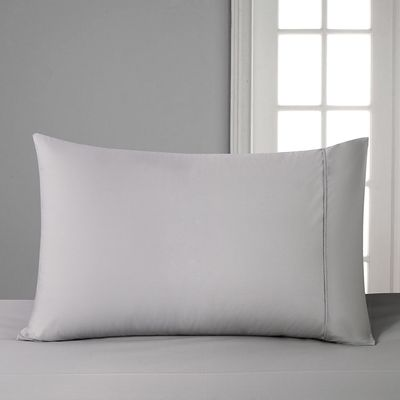 Francis Brennan the Collection Grey Housewife Pillowcase