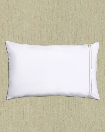 Francis Brennan the Collection Gold Double Stripe Housewife Pillowcase thumbnail