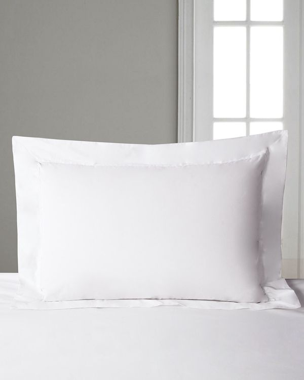 Francis Brennan the Collection White Oxford Pillowcase
