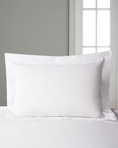 Francis Brennan the Collection King Oxford White Pillowcase thumbnail