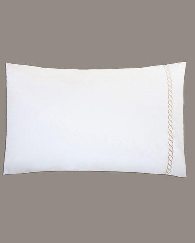 Francis Brennan the Collection Mink Braid Housewife Pillowcase