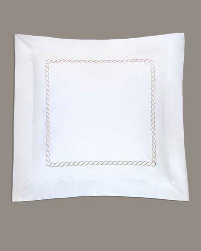 Francis Brennan the Collection Mink Braid Euro Pillowcase