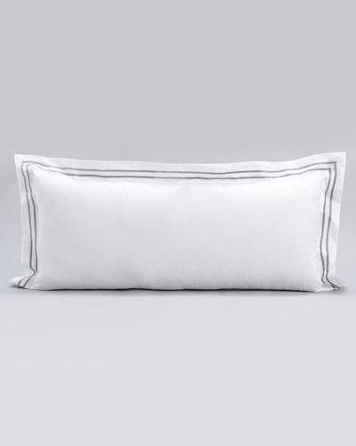 Francis Brennan the Collection Double Stripe Bolster Cushion thumbnail