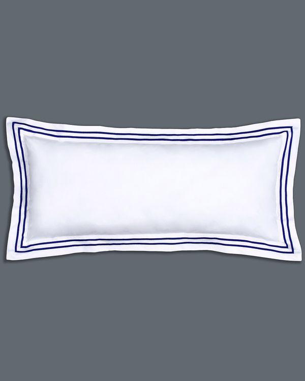 Francis Brennan the Collection Navy Stripe Bolster Cushion