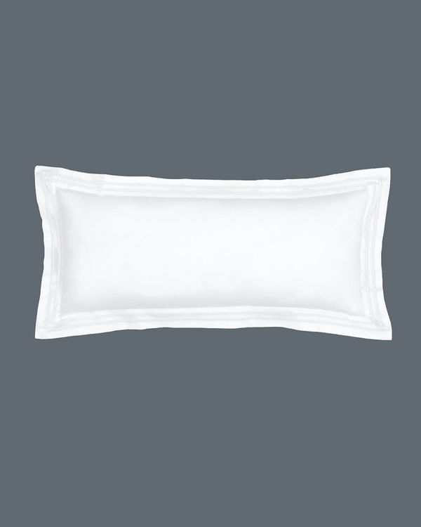 Francis Brennan the Collection White Stripe Bolster