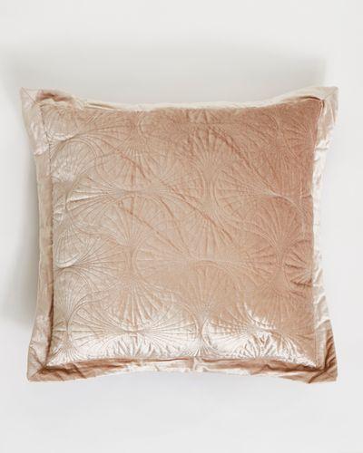 Francis Brennan the Collection Mink Velvet Euro Cushion