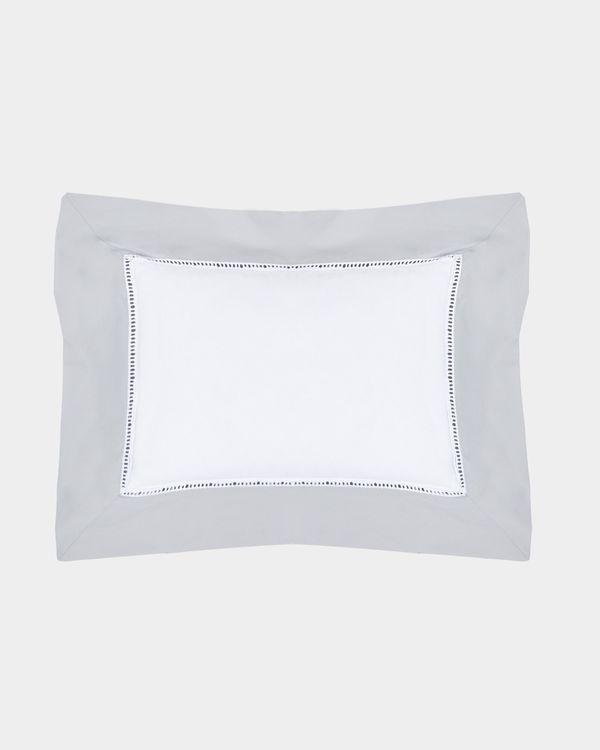 Francis Brennan the Collection Contrast Lattice Cushion