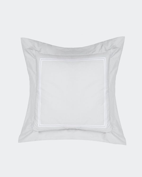 Francis Brennan the Collection Grey Stripe Cushion