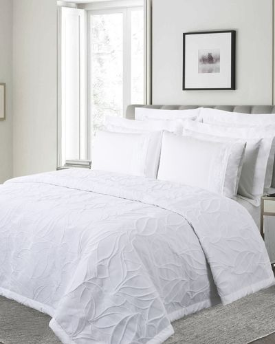 Francis Brennan the Collection Loher Jacquard Bedspread