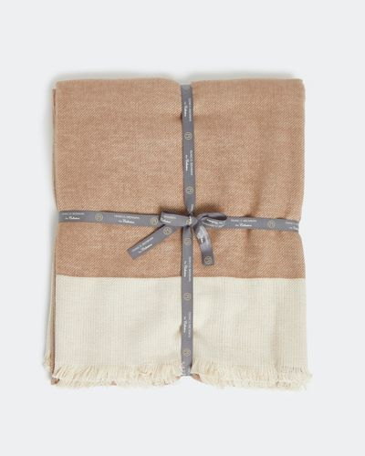 Francis Brennan the Collection Cotton Cashmere Throw