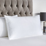 white Francis Brennan the Collection King Luxury Pillow