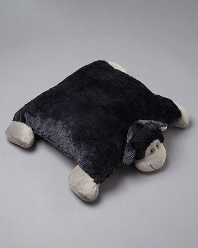 Francis Brennan the Collection Black Sheep Floor Cushion