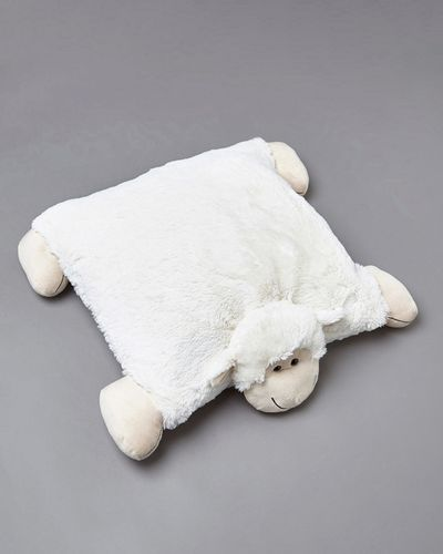 Francis Brennan the Collection Ivory Sheep Floor Cushion