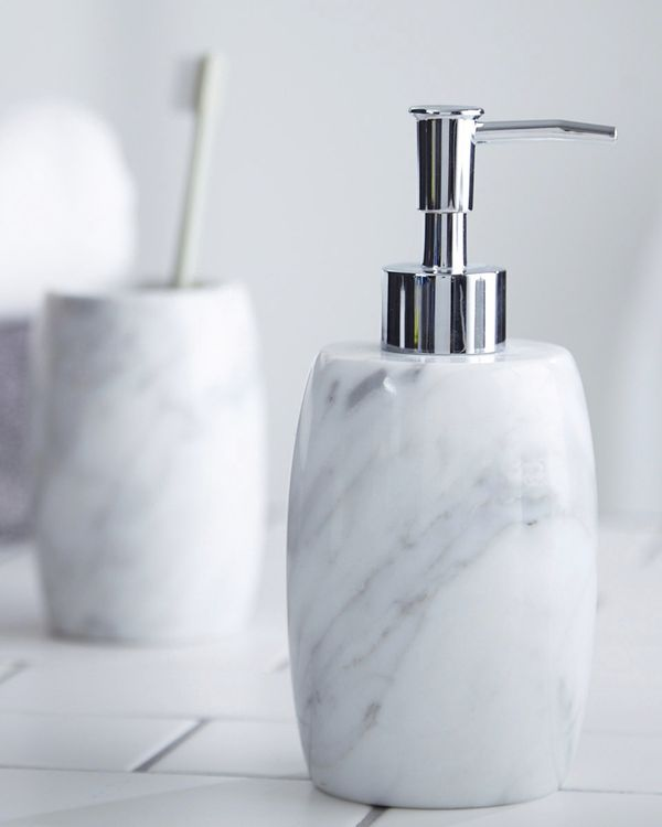 Francis Brennan the Collection Italian Marble Soap Dispenser