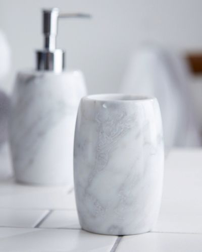 Francis Brennan the Collection Italian Marble Tumbler