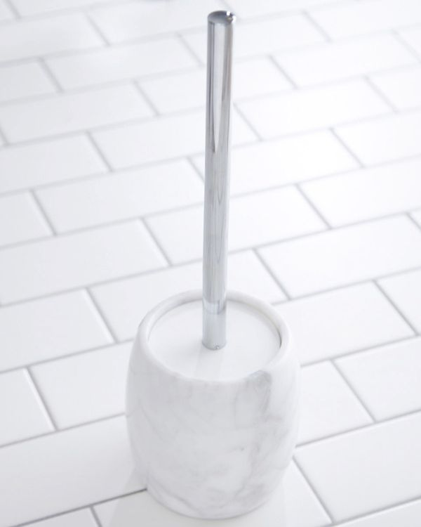 Francis Brennan the Collection Italian Marble Toilet Brush
