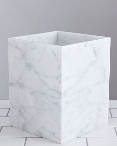 Francis Brennan the Collection Italian Marble Bin thumbnail