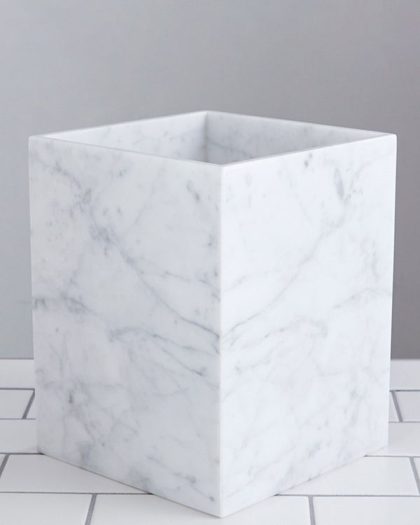 Francis Brennan the Collection Italian Marble Bin