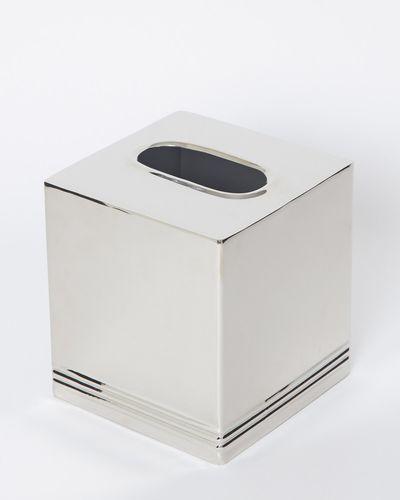 Francis Brennan the Collection Chrome Tissue Box