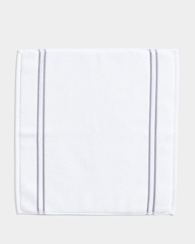 Francis Brennan the Collection Double Stripe Square Bath Mat thumbnail