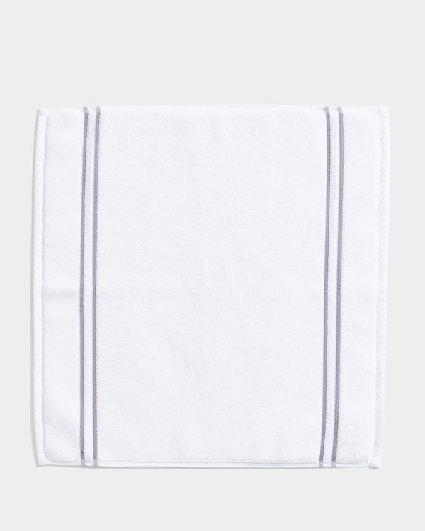 Francis Brennan the Collection Double Stripe Square Bath Mat