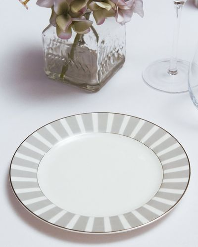 Francis Brennan the Collection Stripe Bone China Side Plate