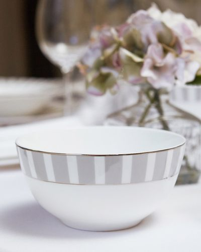 Francis Brennan the Collection Stripe Bone China Cereal Bowl