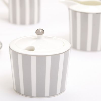 Francis Brennan the Collection Stripe Sugar Bowl And Lid thumbnail