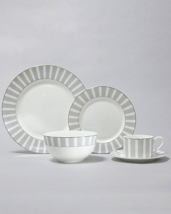 Francis Brennan the Collection Stripe Dining Set - 20 Piece