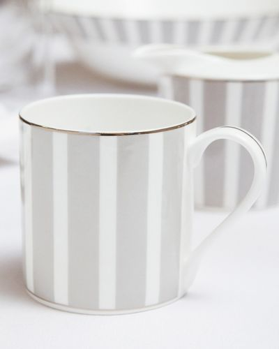 Francis Brennan the Collection Stripe Bone China Coffee Mug