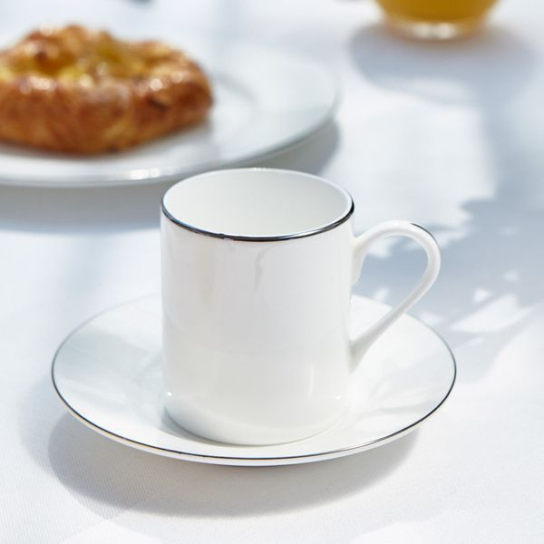 Francis Brennan the Collection Platinum Espresso Cup And Saucer
