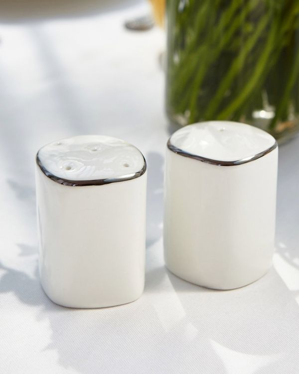 Francis Brennan the Collection Platinum Salt And Pepper Set