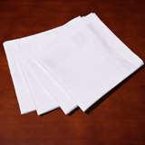 white Francis Brennan the Collection Napkins - Pack Of 4