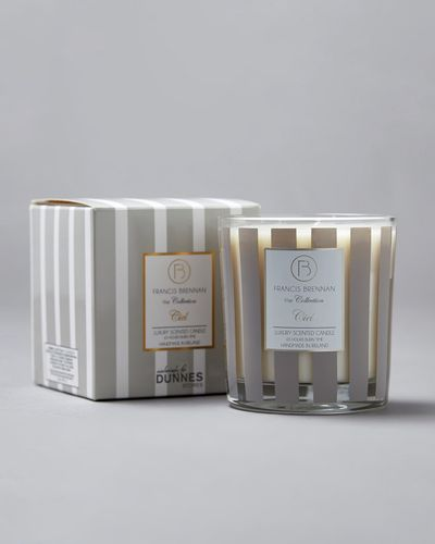 Francis Brennan the Collection Stripe Candle