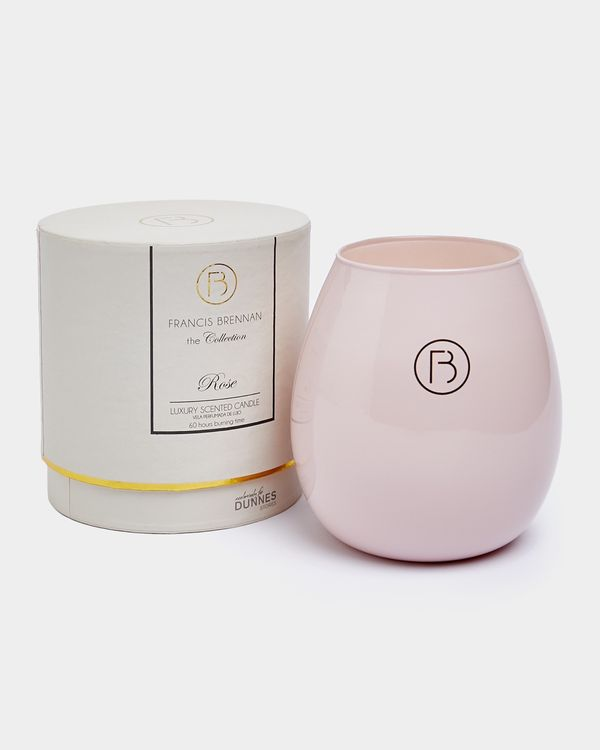Francis Brennan the Collection Rose Candle