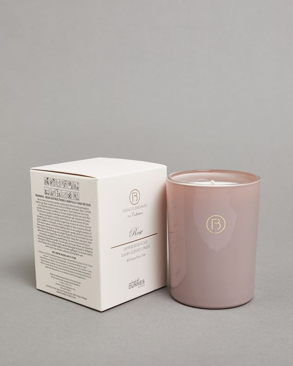 Francis Brennan the Collection Rose Tumbler Candle