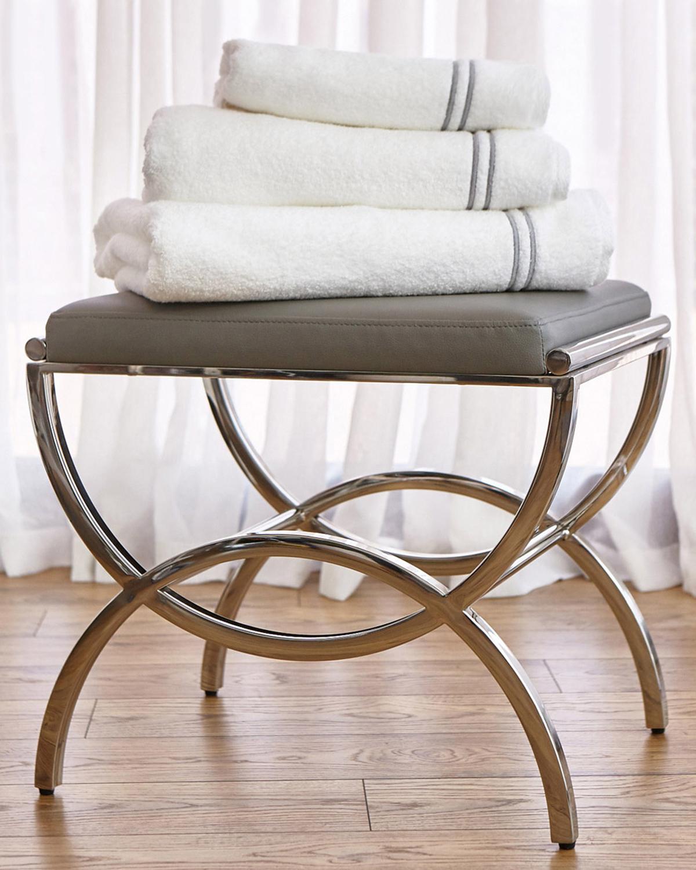 Wondrous Francis Brennan The Collection Vanity Stool Machost Co Dining Chair Design Ideas Machostcouk
