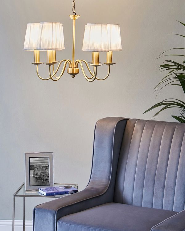 Francis Brennan the Collection Gold Pendant Light